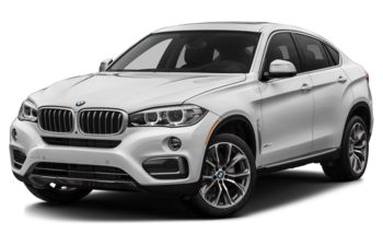 2017 BMW X6 - Mineral White Metallic