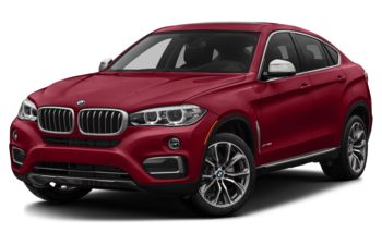 2017 BMW X6 - Flamenco Red Metallic