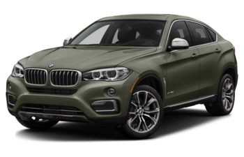 2017 BMW X6 - Atlas Cedar Metallic