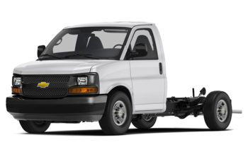 2018 Chevrolet Express Cutaway 4500 - Summit White