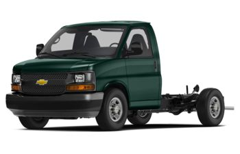 2018 Chevrolet Express Cutaway - Woodland Green