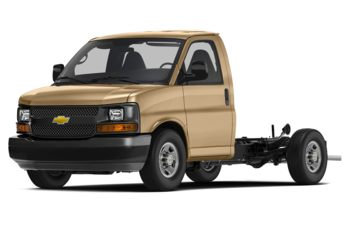 2018 Chevrolet Express Cutaway 4500 - Doeskin Tan