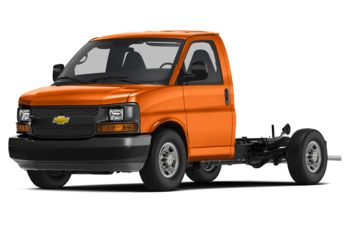 2018 Chevrolet Express Cutaway 4500 - Tangier Orange