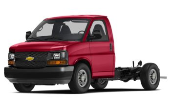 2018 Chevrolet Express Cutaway - Red Hot