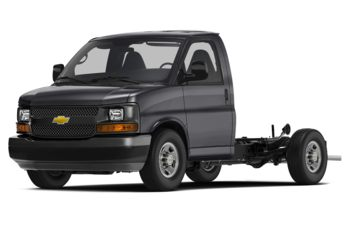 2018 Chevrolet Express Cutaway 4500 - Satin Steel Metallic