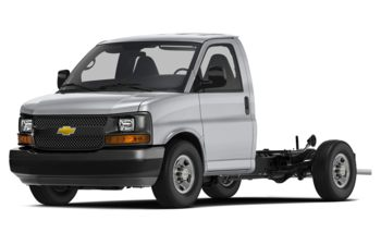2018 Chevrolet Express Cutaway 4500 - Silver Ice Metallic