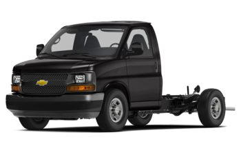 2018 Chevrolet Express Cutaway 4500 - Black