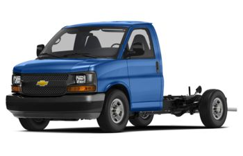 2018 Chevrolet Express Cutaway 4500 - Kinetic Blue Metallic