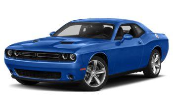 2018 Dodge Challenger - Indigo Blue