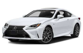 2018 Lexus RC 350 - Ultra White