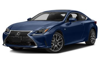 2018 Lexus RC 350 - Ultrasonic Blue Mica 2.0