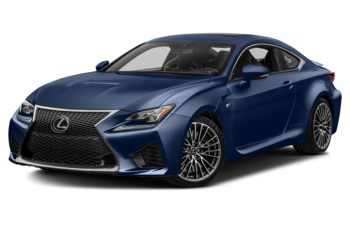 2017 Lexus RC F - Ultrasonic Blue Mica 2.0