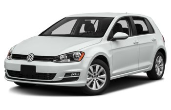 2017 Volkswagen Golf - Pure White