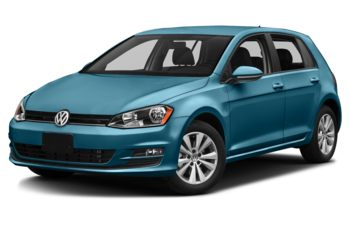 2017 Volkswagen Golf - Silk Blue Metallic