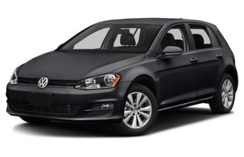 2017 Volkswagen Golf - Deep Black Pearl