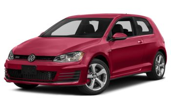 2017 Volkswagen Golf GTI - Tornado Red