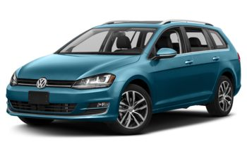 2017 Volkswagen Golf SportWagen - Silk Blue Metallic