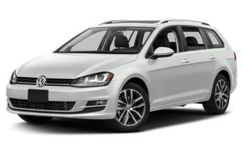 2017 Volkswagen Golf SportWagen - Pure White
