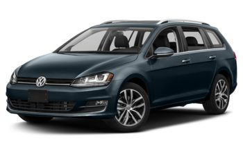 2017 Volkswagen Golf SportWagen - Night Blue Metallic