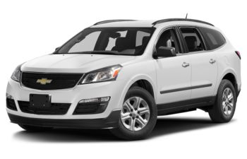 2017 Chevrolet Traverse - Summit White