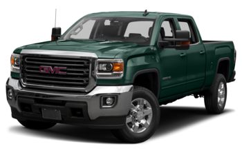 2019 GMC Sierra 3500HD - Woodland Green