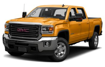 2019 GMC Sierra 3500HD - Wheatland Yellow