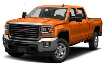 2019 GMC Sierra 3500HD - Tangier Orange