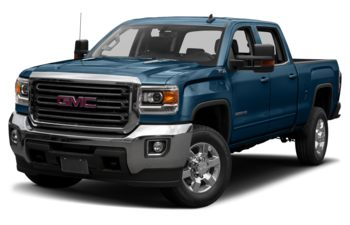 2019 GMC Sierra 3500HD - Stone Blue Metallic