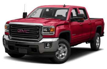 2019 GMC Sierra 3500HD - Cardinal Red