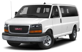 2019 GMC Savana 3500 - Summit White