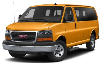 2019 GMC Savana 3500 - Wheatland Yellow