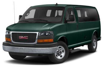2019 GMC Savana 3500 - Woodland Green