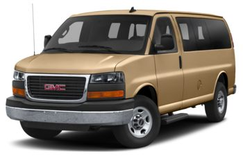 2019 GMC Savana 3500 - Doeskin Tan