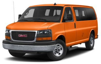2019 GMC Savana 3500 - Tangier Orange