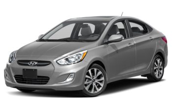 2017 Hyundai Accent - Ironman Silver Metallic