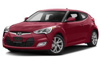 2017 Hyundai Veloster - Boston Red Metallic