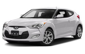 2017 Hyundai Veloster - Century White