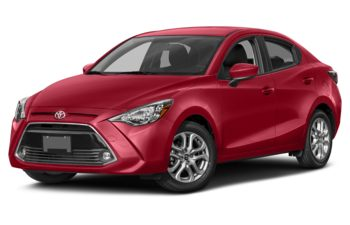 2018 Toyota Yaris - Pulse Red Metallic
