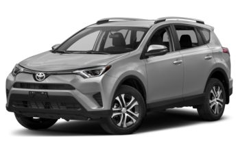 2017 Toyota RAV4 - Silver Sky Metallic