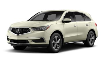2017 Acura MDX - White Diamond Pearl