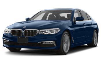 2017 BMW 530 - Mediterranean Blue Metallic