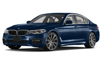 2017 BMW 540 - Mediterranean Blue Metallic