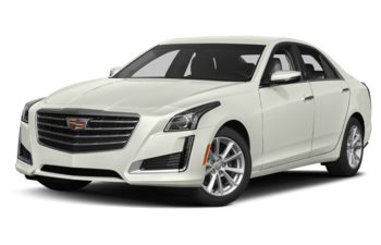 2018 Cadillac CTS - Crystal White Tricoat