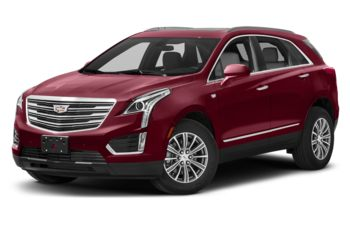 2018 Cadillac XT5 - Red Passion Tintcoat