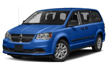 2020 Dodge Grand Caravan - Indigo Blue