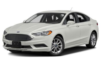 2017 Ford Fusion - White Platinum Metallic Tri-Coat