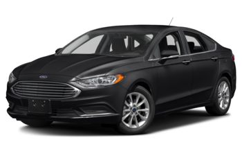 2017 Ford Fusion - Shadow Black