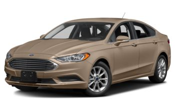 2017 Ford Fusion - White Gold Metallic