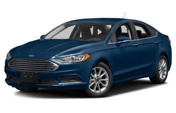 2017 Ford Fusion - Lightning Blue Metallic
