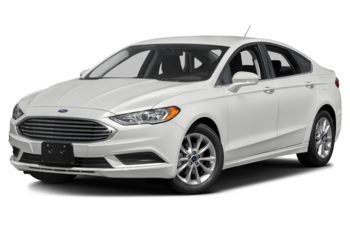 2017 Ford Fusion - Oxford White